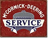 ART - Licensed Collectibles, Classic, Retro, Vintage, Antique Reproductions And Original Designs:    McCormick Deering Service 12170S9 [SPC2DS] - For Home Or Office - Paint On Metal [TSD]