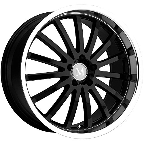 Mandrus Millenium Gloss Black Machined Wheel ()