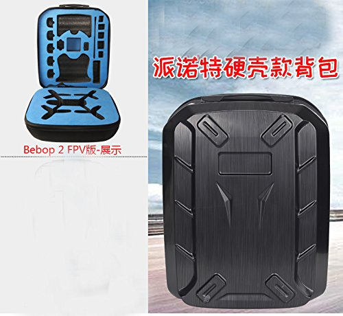 Price comparison product image Hardshell backpack For parrot bebop 2 power FPV + VR Goggles Camera Drones RC QUADCOPTER