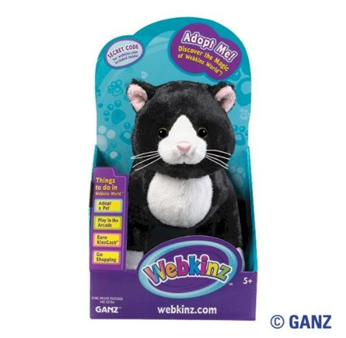 Webkinz Tuxedo Cat in Box
