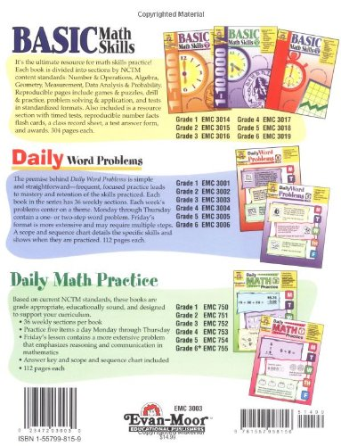 Workbook contraction worksheets for grade 3 : Amazon.com: Daily Word Problems, Grade 3 (9781557998156): Evan ...