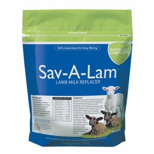 milk products llc 01-7417-0215 Sav-A-Lam, 4 LB, Milk Replacer