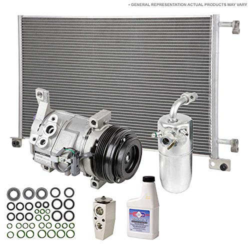 OEM AC Compressor w/A/C Condenser & Repair Kit For Lincoln Continental 1993 - BuyAutoParts 60-80787R7 ()