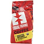 Equal Exchange Organic Whole Bean Coffee, Decaf, 12-Ounce Bag (Pack of 3) 4 Contains 3 bags, 12 oz per bag (36 oz) TASTE: Organic Decaffeinated Ground Full-Bodied Coffee with a Balanced Flavor of Sweet Nutty & Vanilla ROAST: Full City Roast Blend