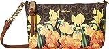 Calvin Klein Hayden Monogram Top Zip Signature Crossbody, Iris Multi