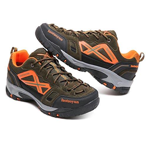 Herbst Winter Wanderschuhe Sneakers Paar Schuhe Low-Top Atmungsaktive Turnschuhe 39-44 Khaki