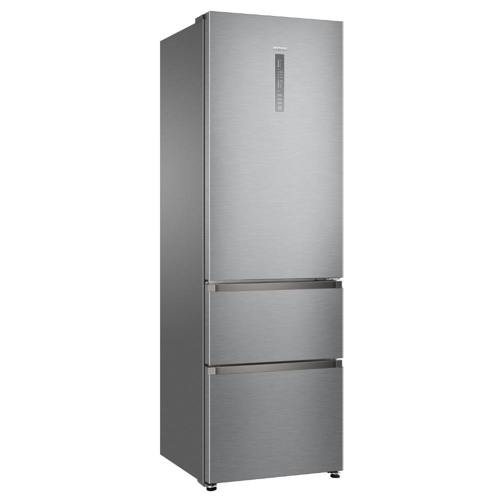 Haier A3FE635CGJE Frost Free Fridge Freezer in Silver: Amazon.co.uk: Large  Appliances