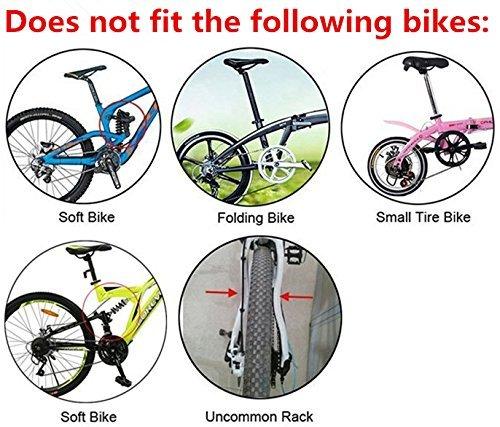 Acomfort 110 Lbs Capacity Adjustable Bike Luggage Cargo Rack Bicycle Accessories by Acomfort (Image #6)