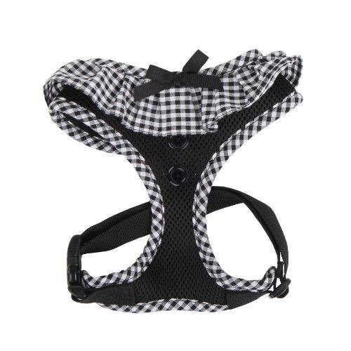 Puppia Authentic Vivien Pet Harness, Small, Black