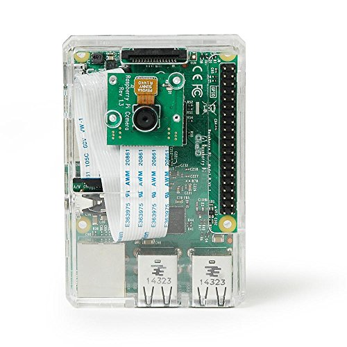 Raspberry Pi 3 Model B Camera Kit with Case, Power Supply, Operating System and HD Camera by MCM Electronics (Image #2)