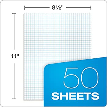 Tops Quadrille Pad, 8.5 X 11 Inches, 15 Pound Stock, 50 Sheets Per Pad, 6 Pads Per Pack, White (99522) 4