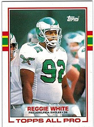 93db0113843 1989 Topps   Traded Philadelphia Eagles Team Set with Randall Cunningham - Reggie  White - Cris