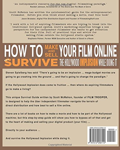 Amazon How To Make And Sell Your Film Online And Survive The
