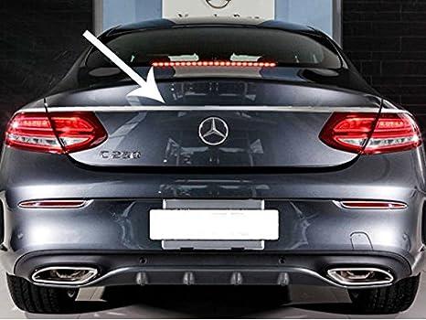 Mercedes C Clase C Coupé cromo Boot Trunk Lid Juego de tapacubos: Amazon.es: Coche y moto
