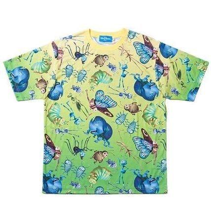 形式単なる遮るバグズライフ Tシャツ 東京ディズニーリゾート 限定 総柄 ディズニーランド ディズニーシー (Sサイズ)