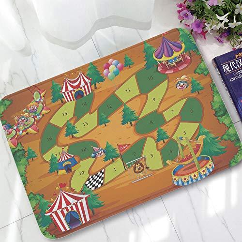 YOLIYANA Custom Carpet,Board Game,for Children Bedroom Corridor,15.75