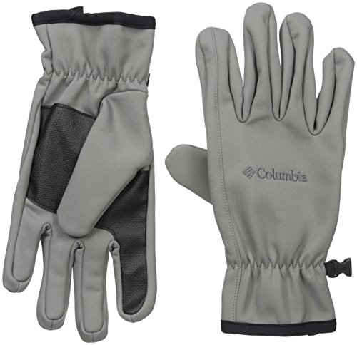 Columbia Men's Ascender Softshell Glove, Boulder, Small by Columbia