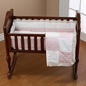 Amazon Com Baby Doll Bedding Queen Cradle Set Pink