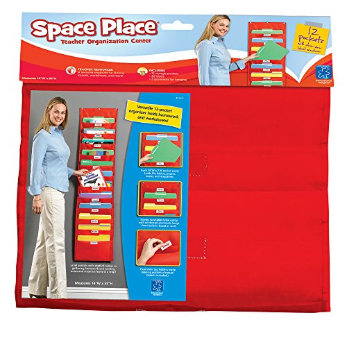 Place Hanging Pockets (Educational Insights Space Place Pocket Chart)