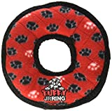 VIP Tuffy JR Ring Durable Interactive Fun Soft Plush Pet Dog Puppy Toy Red Paw Review