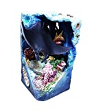 Best 2 Piece Stingray Ocean Aquarium Lover Cool Fun Figurine Statue Water Animal Home Room Decor Last Minute Top Seller Shark Week Gift Idea For Daddy From Son Daughter Young Boy Girl Couple Fisherman