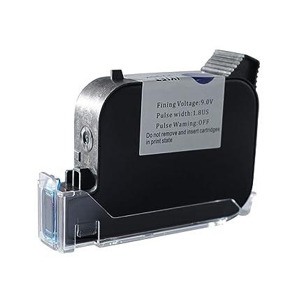Impresora de inyección de tinta de mano cartucho fecha de secado ...
