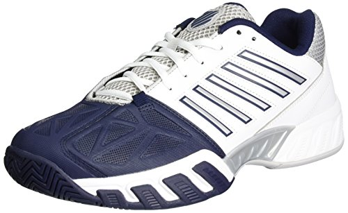 K-Swiss Performance Bigshot Light 3, Zapatillas de Tenis para Hombre Blanco (White/navy)