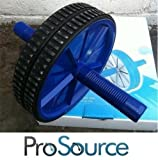 NEW PROSOURCE AB ABDOMINAL EXERCISE STOMACH TONE ROLLER WORKOUT WHEEL FITNESS
