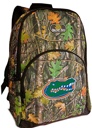Official Logo Ncaa Backpack - Broad Bay University of Florida Backpacks Official CAMO Florida Gators Backpack
