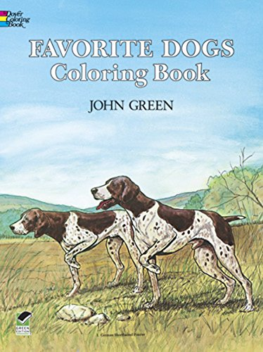 (Favorite Dogs Coloring Book)