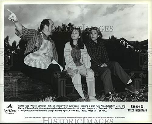 Historic Images - 1995 Press Photo Erik von Detten Stars in Escape to Witch Mountain. (Escape To Witch Mountain Erik Von Detten)