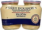 Grey Poupon Dijon Mustard 2 Pack 16oz each total 32oz