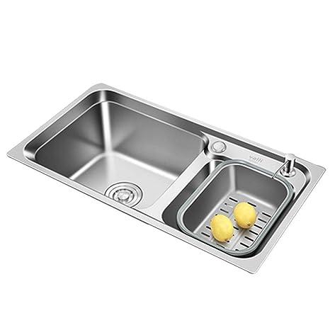 Kitchen Sinks Fregadero de Cocina para Restaurante, Lavabo ...