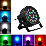Marketworldcup-RGB 54W LED Projector Lights DMX Stage Lighting Party Club DJ Disco Show Light