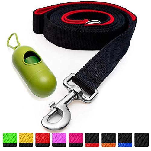 [Strong] Dog Leash with Bonus Free Waste Bag...
