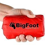 "NEW (2 Pack) Bigfoot Outdoor ""Blizzard"" Emergency Survival Bivvy Sleeping Bag"