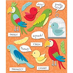 K&company Birds Sticker Medley