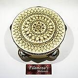 Henna mandala, Gift for women, Asian art, Gift for girls, Functional art, Stocking stuffer, Indian gift, Autumn home decor, Party nights