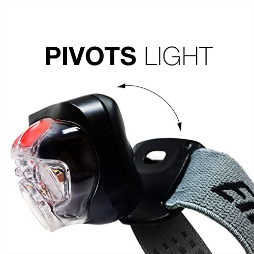 Energizer Vision HD Led Lampe de tête Mains Libres Frontale 150 Lumens