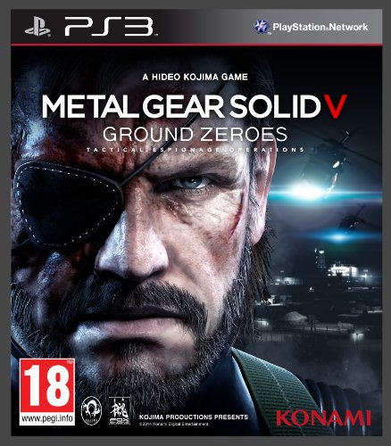 Metal Gear Solid V: Ground Zeroes (PS3) (Metal Gear Solid V Ps3)