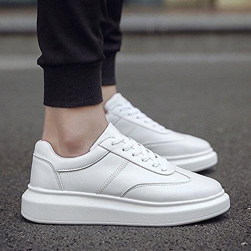 Größe Farbe Schuhe Herbst Farben UK6 CN40 4 Frühling und EU39 Feifei 5 Erhöhen Teller Freizeit Herrenschuhe 01 7AHvqxA