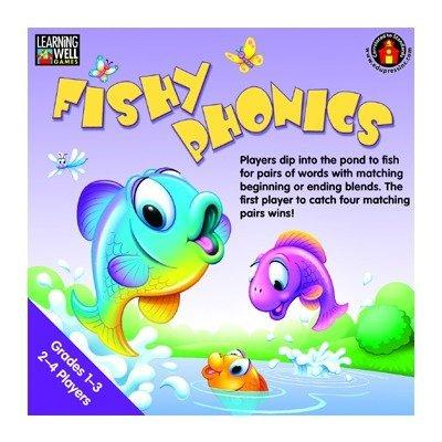 Edupress EP-LRN271 Fishy Phonics Beginning And Ending Blends by (Phonics Beginning Blends)