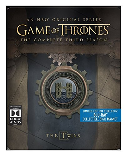 Collectible Magnet (Game of Thrones - Season 3 - Limited Edition Steelbook with Collectible Magnet [Blu Ray])