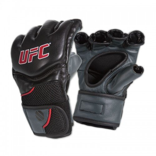 UFC Competition Grade MMA Gloves BlackGray SmallMedium