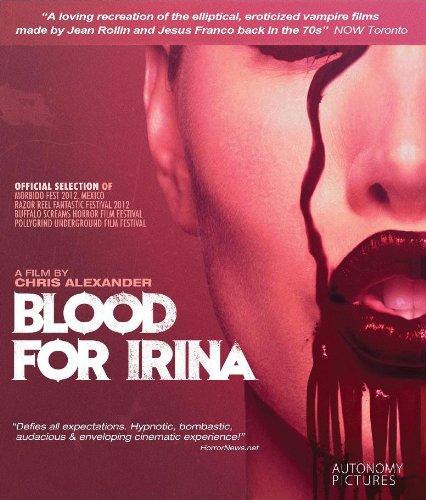 Blood Irina Blu ray Shauna Henry product image