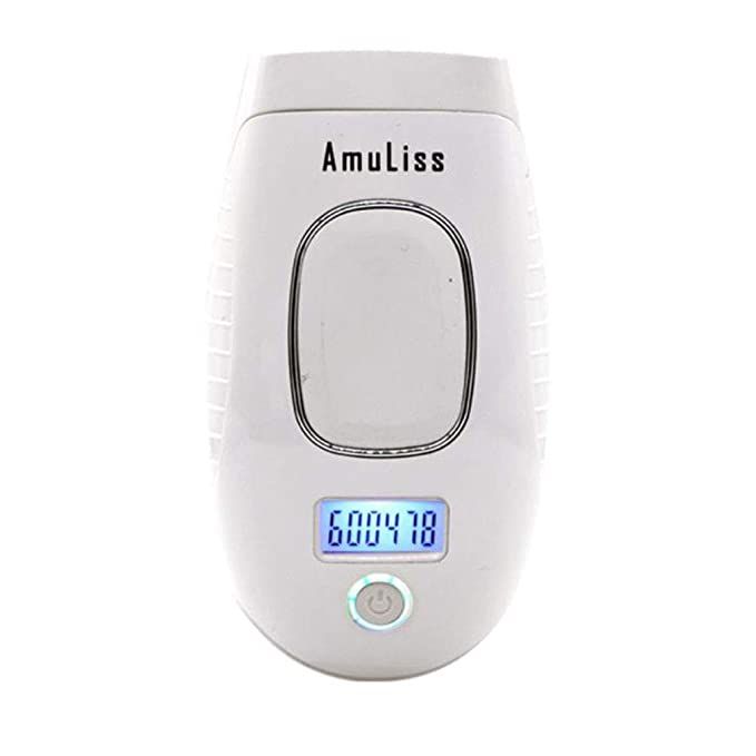 LYX1,Depiladoras Dispositivo de eliminación de Pelo IPL Cabeza de láser indolora Permanente en la Cara Bikini y Axilas Piel (Color : Blanco): Amazon.es: ...