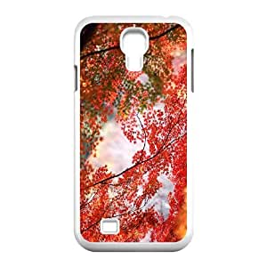 Maple Tree Branch Samsung Galaxy S4 9500 Cell Phone Case White Wjapd