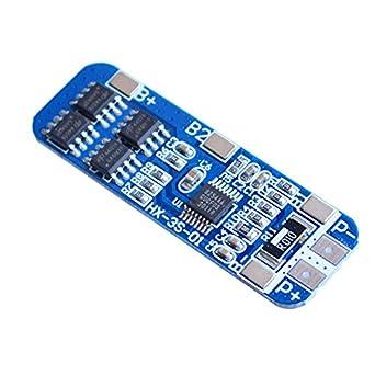 icstation 11,1 V 12,6 V 8 A 3S batería de litio Junta de ...