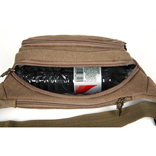 Oxforder Gürteltasche Bauchtasche Multifunktionale Hüfttasche für Damen und Herren auf Sport und Outdoor Aktivit?ten anwenden, Wandern, Laufen, Radfahren, Camping, Reise, Klettern