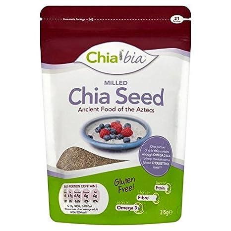 Chia Bia Chía Molida 315g Bia Semilla De Chía (Paquete de 6 ...